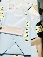 akcesoria ślubne literki