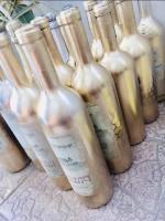 akcesoria ślubne na butelki