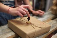 pocztówki oraz pakowanie prezentów 1